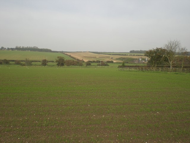North from Westgate across Stiffkey valley