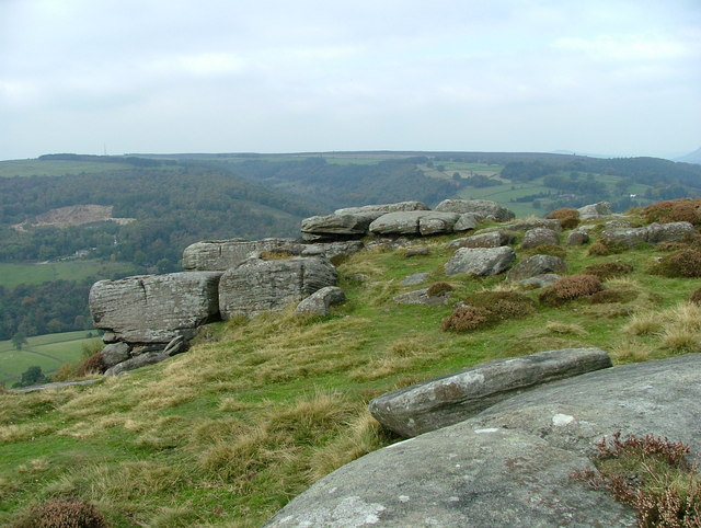 Froggatt Edge - looking west