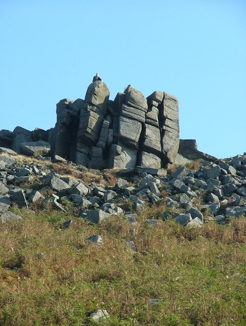 Boulders at Curbar Edge