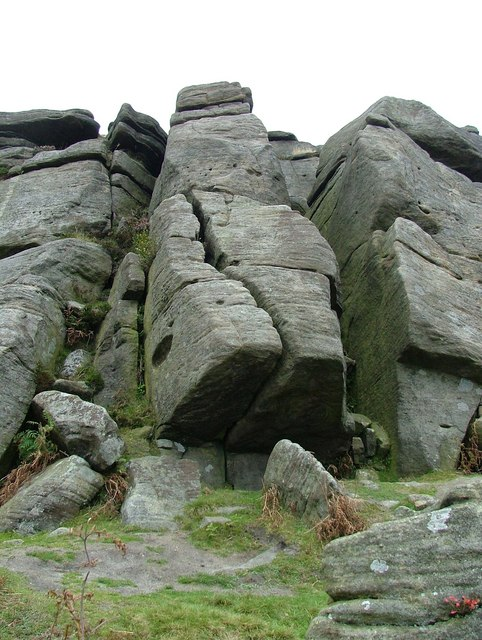 End Slab - Burbage Edge North