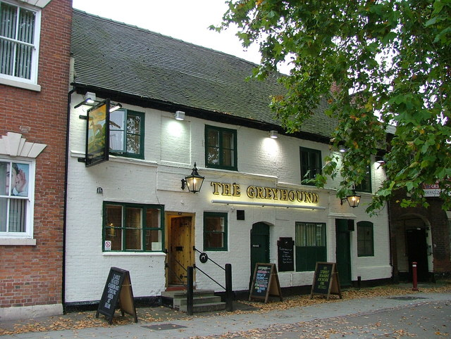 The Greyhound - Friar Gate, Derby