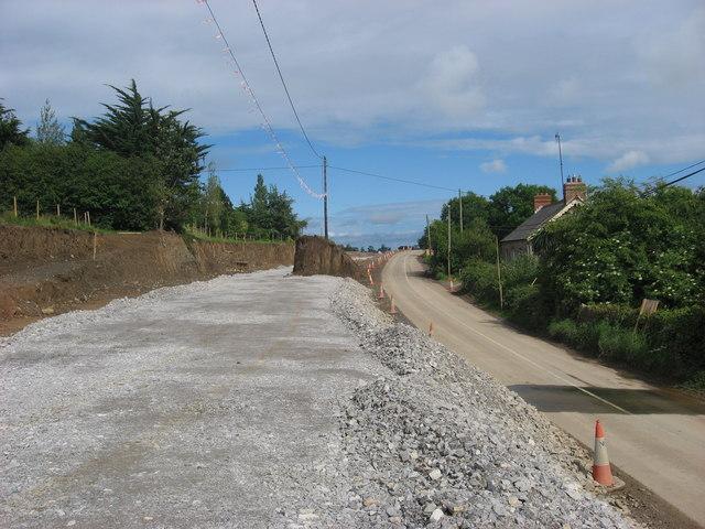 Roadworks at Julianstown, Co. Meath