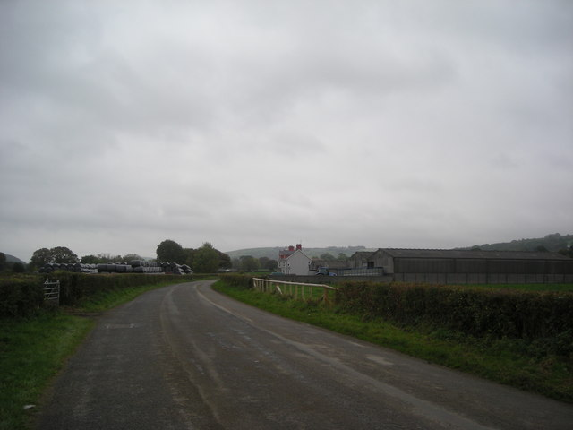Cellan Road and Coedmore Farm