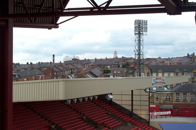 Barnsley Town Hall from the football ground