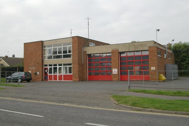 Shefford fire station