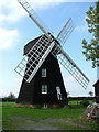 SP8100 : Lacy Green Windmill by Peter Jemmett