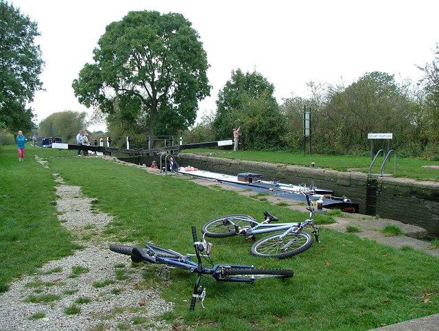 Derwent Mouth Lock - Trent & Mersey Canal
