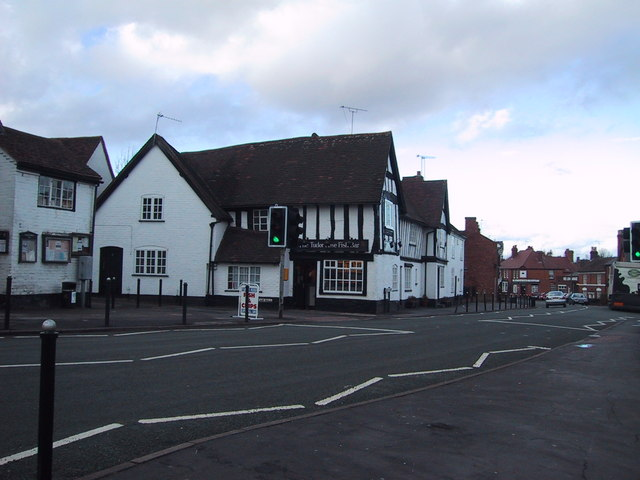 'The Tudor Rose Fish Bar' in Alvechurch, Worcestershire.