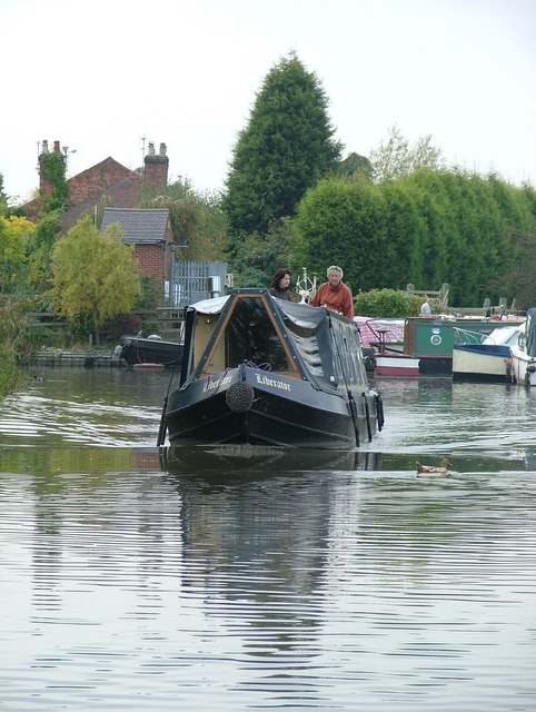 Canal boat - Trent & Mersey Canal