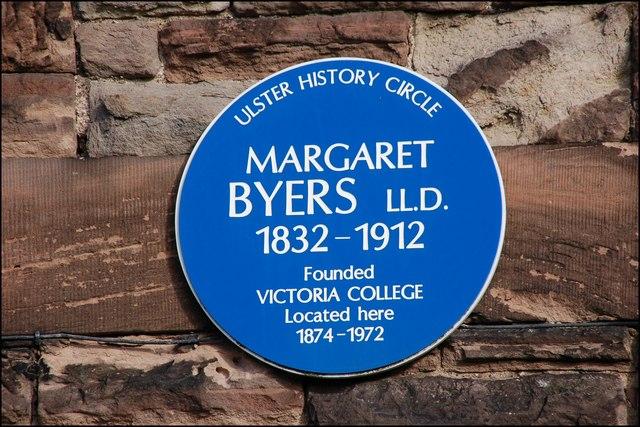 Byers plaque, Belfast