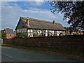 SJ4452 : Stretton Old Hall Barn Conversion by Mike Searle