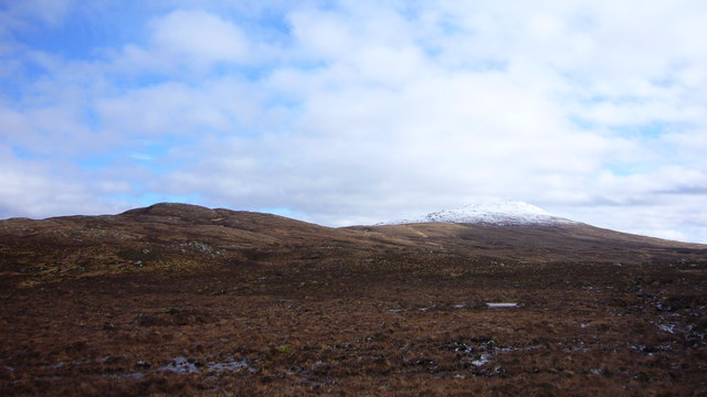 Beinn Loinne from above the 'old road'