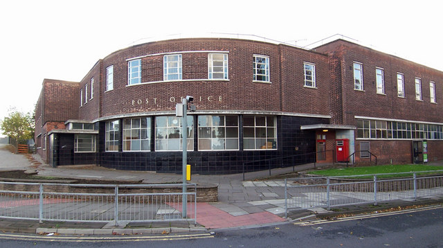 The 1939 Post Office, Oswald Street