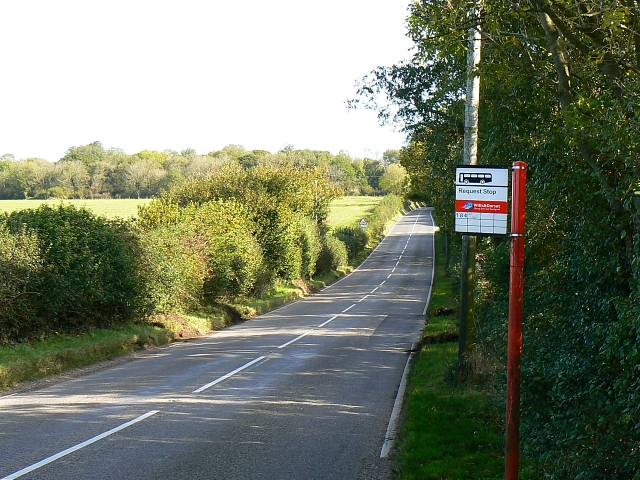 A354 to Winterborne Whitechurch