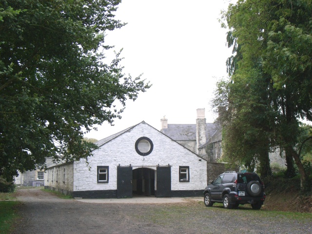 Stables at Durhamstown Castle:: OS grid N8068 :: Geograph Ireland ...
