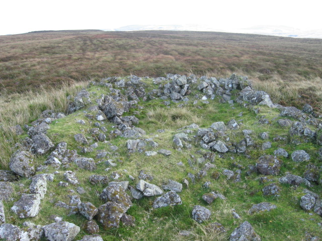 Remains on Dunnairbuck Hill