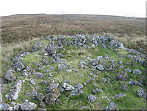 NS2966 : Remains on Dunnairbuck Hill by Chris Wimbush