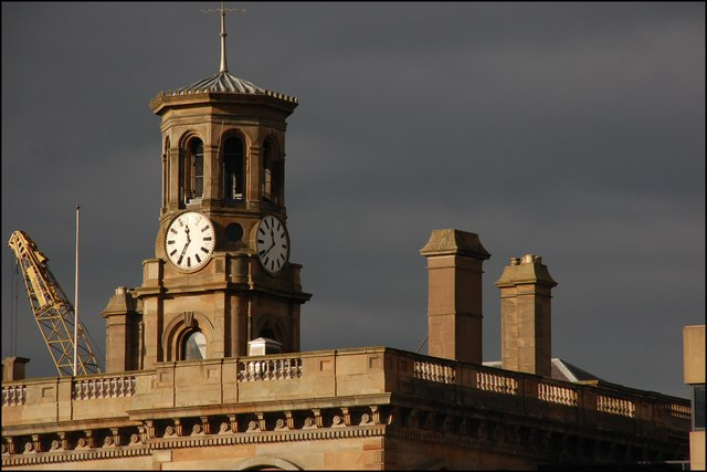 Clock tower, Belfast Harbour Office