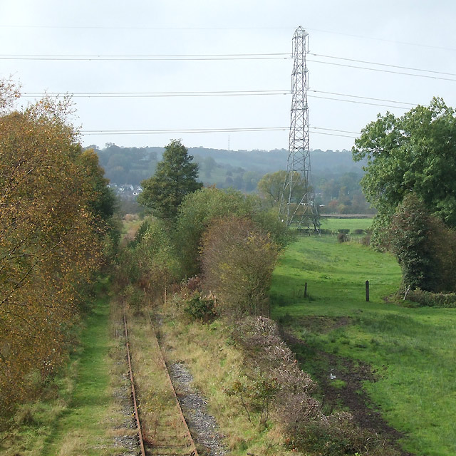 Disused Railway Line, near Denford, Staffordshire