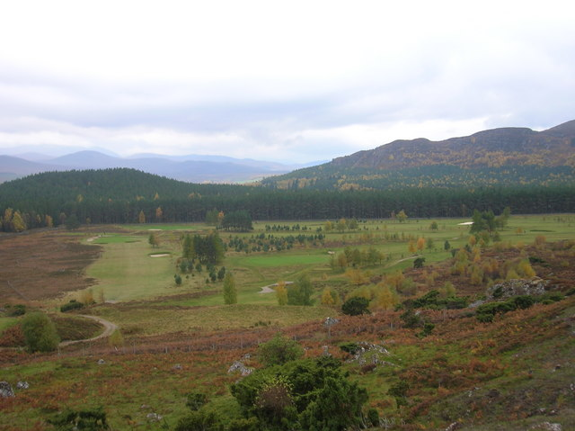 Kingussie golf Course