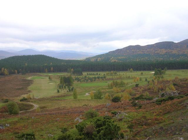 Kingussie golf Course