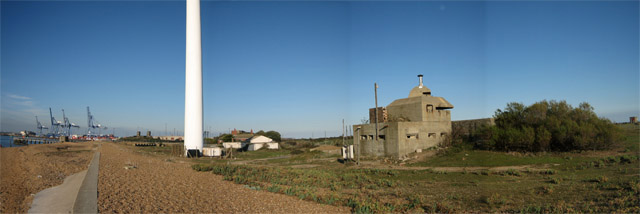 Landguard panorama