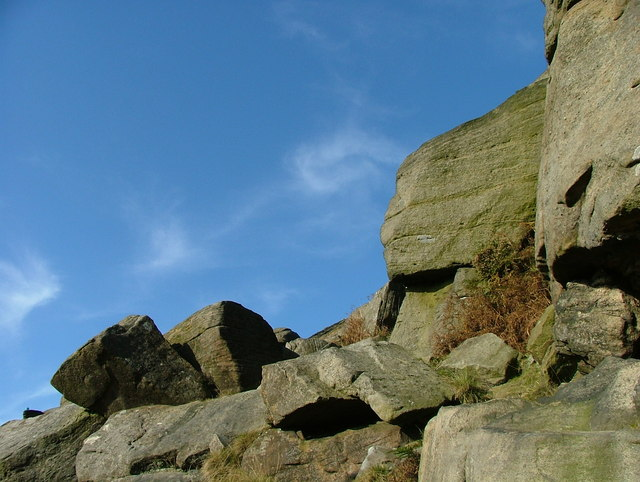 Boulders at Stanage Edge