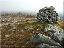 NH1507 : Summit of Beinn Loinne by Chris Upson