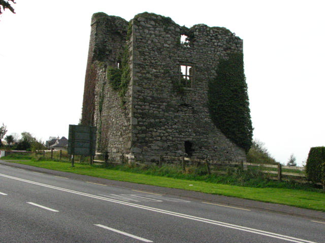 Mountgarret Castle overlooking New Ross