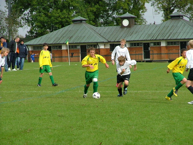 Youth football on Hazlemere recreation ground