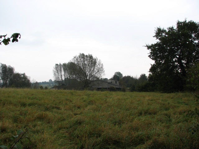 Agricultural sheds belonging to Hall Farm