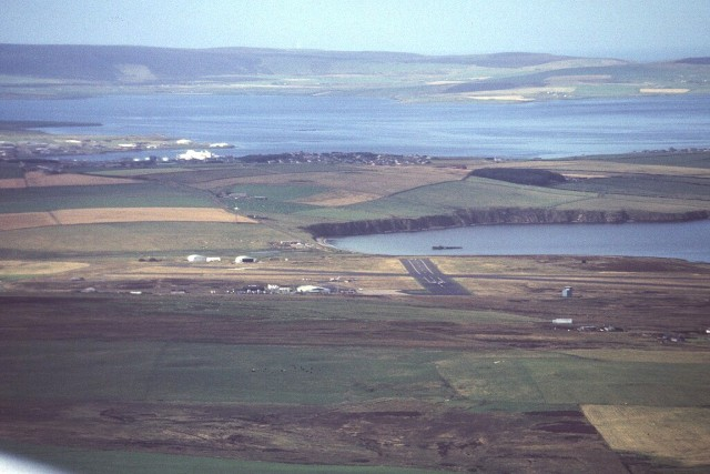 Finals for Kirkwall Airport
