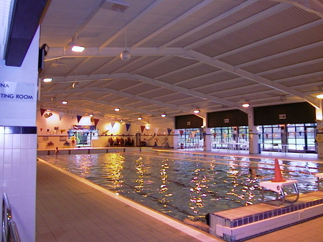 Market drayton swimming bath vic richards geograph - 24 hour fitness with swimming pool locations ...