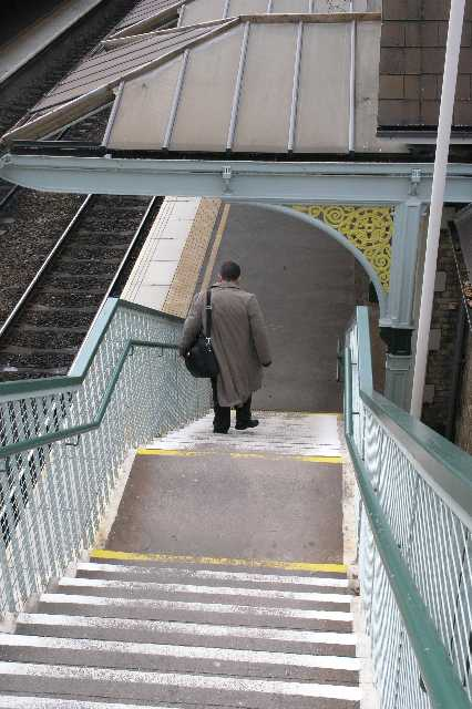 Beeston Station Steps