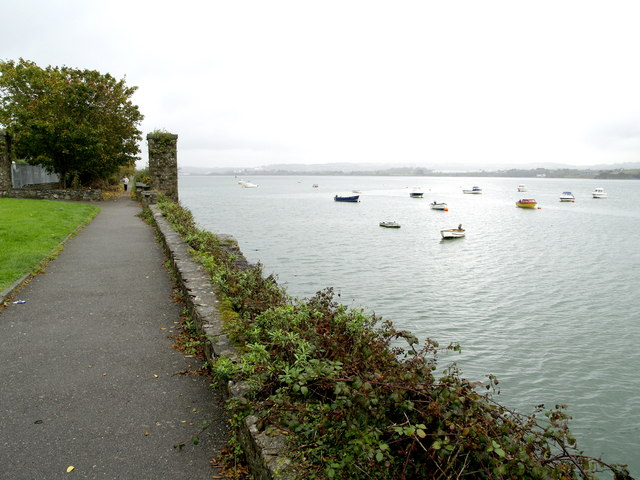 The river front at Passage West