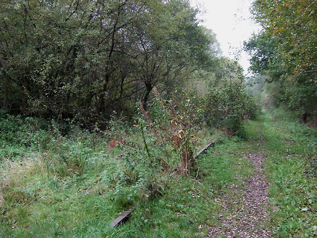Disused Railway near Horse Bridge, Staffordshire