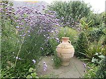 S8735 : Garden feature; Coolaught Garden by Jonathan Billinger