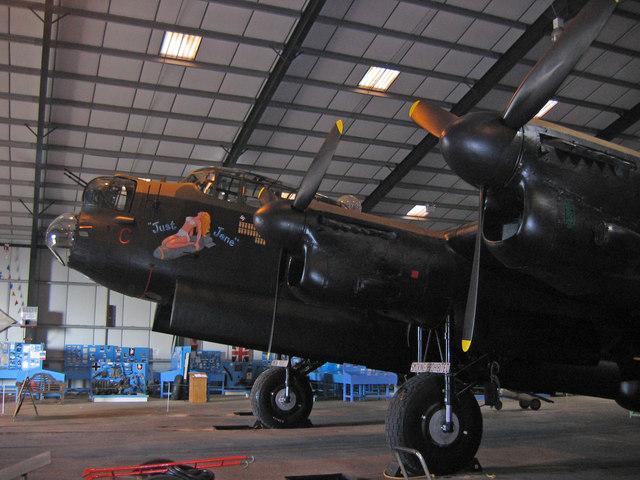 "Lancaster Mk II NX611 ""Just Jane"""