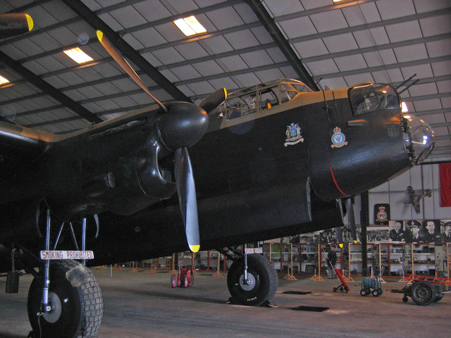 Lancaster Mk II NX611 &quot;Just Jane&quot;
