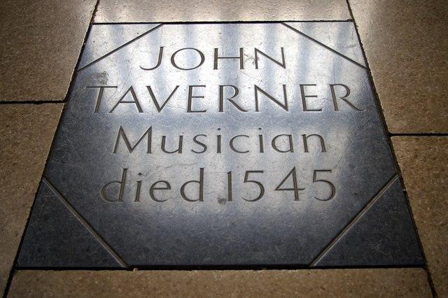 Grave of John Taverner
