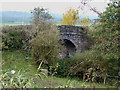 SJ9453 : Former Railway Bridge, near Denford, Staffordshire by Roger  Kidd