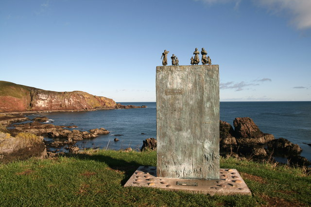 Sculpture, St Abbs