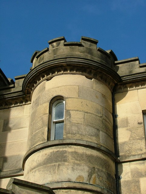 Turret at Willersley Castle, Cromford