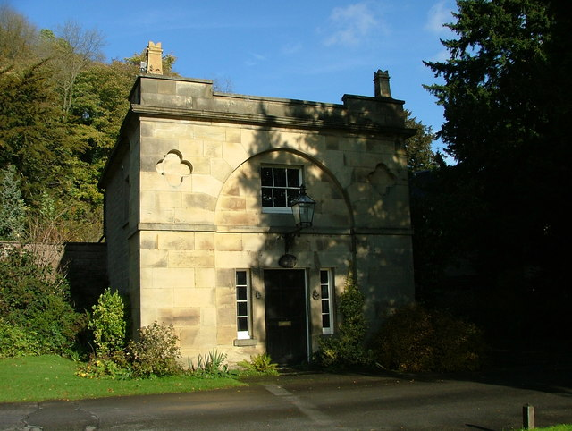 Gate lodge - Willersley Castle, Cromford