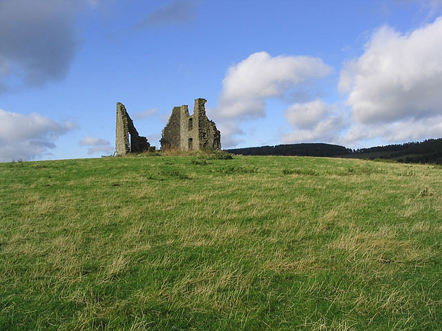 The remains of Horsburgh Castle