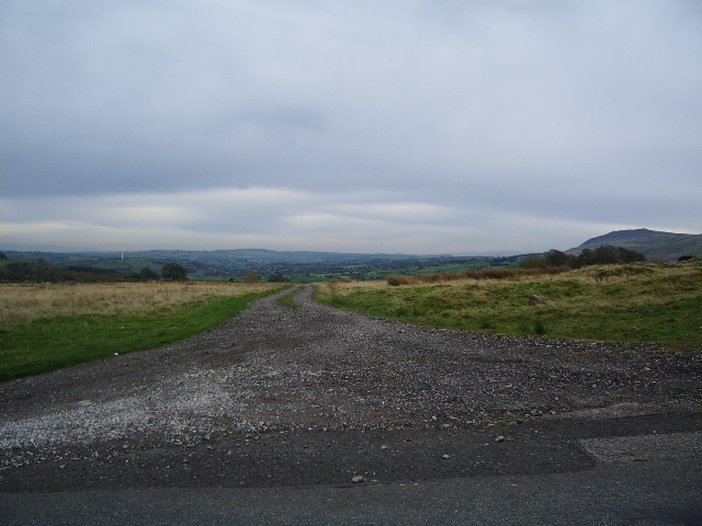 Road to Brownrigg Hall Farm