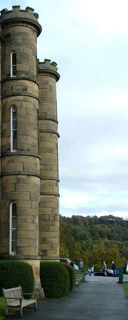 Turrets at Willersley Castle