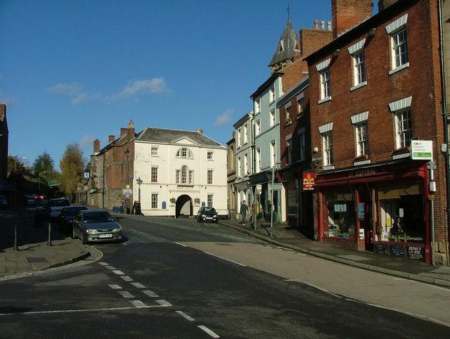 Wirksworth street scene
