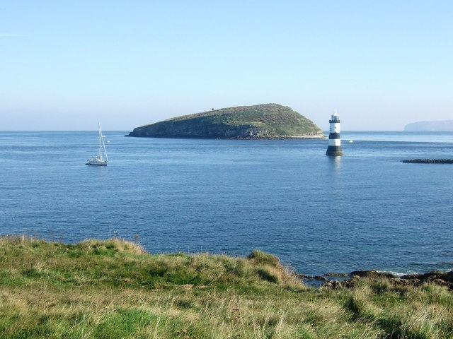 Puffin Island and Penmon Lighthouse