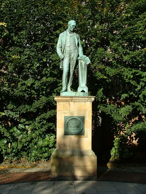 Statue of Michael Thomas Bass - Wardwick, Derby